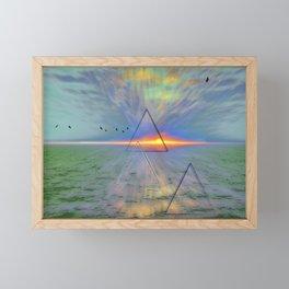 Pyramid Power Framed Mini Art Print