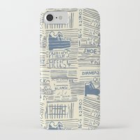 shoe iPhone & iPod Cases featuring Shoe by Becca Hardingham