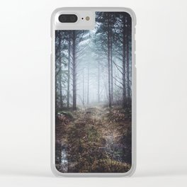 No more roads Clear iPhone Case