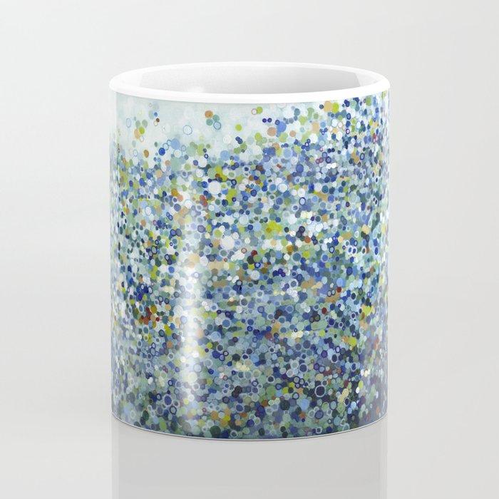 Leo Carrillo Dotted Beach Pattern Coffee Mug