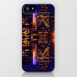 Aura  | Musical Crime Productions | Digital Manipulation Photography | City Lights Photography iPhone Case