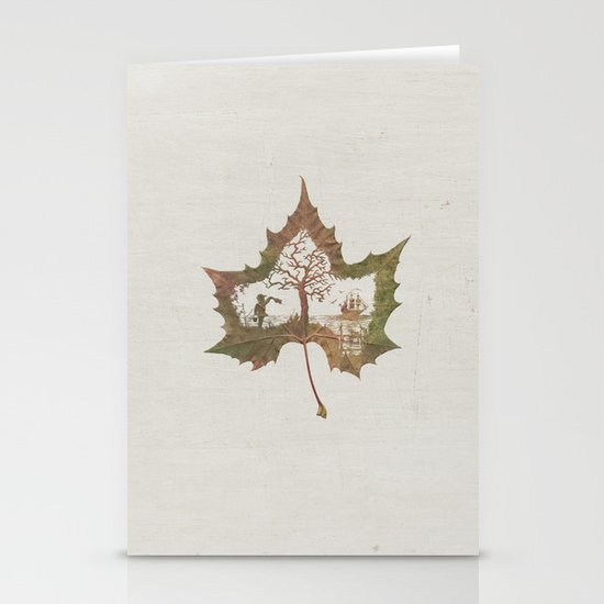 A Fall Story Stationery Cards