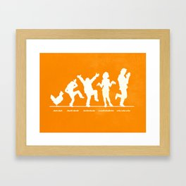 Bluth Chickens Framed Art Print
