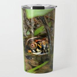 Box Turtle and Tadpoles Travel Mug