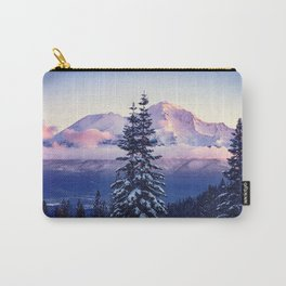 Glorious Beginning sunrise on Mount Shasta Carry-All Pouch