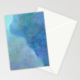 Minimal Mountain- - 遠望 series - oil-paint Stationery Cards