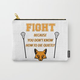 """The Foxhole Court – """"Fight"""" – All For The Game Carry-All Pouch"""