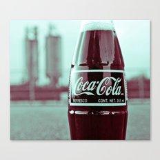 Urban cola Canvas Print