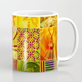 JAUNE COLLAGE Coffee Mug