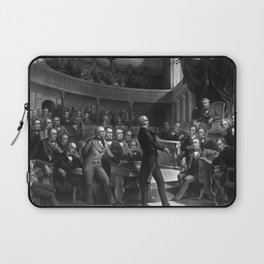 Henry Clay Speaking In The Senate Laptop Sleeve