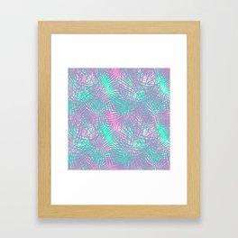 90's Palms Framed Art Print