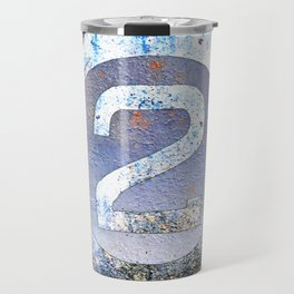 Bold Number 2 Travel Mug