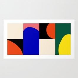Geometric-Organic Art Print
