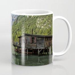Lake Braies in Italy Coffee Mug