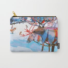 Reindeers and friends Carry-All Pouch