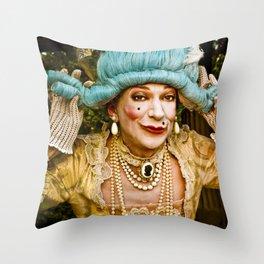 contessa tocado Throw Pillow