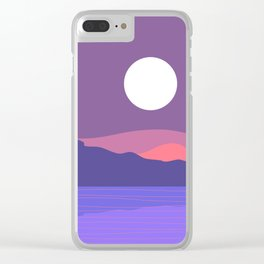 Tropical Landscape 03 Clear iPhone Case