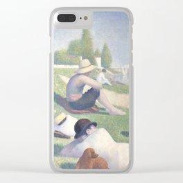 Bathers at Asnières Clear iPhone Case