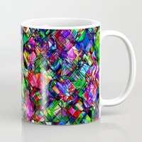 tim shumate Mugs featuring Dragons by Tim Henderson by WhatisArt