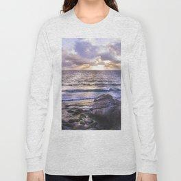 Porth Nanven, Cot Valley 3, Cornwall, England, United Kingdom Long Sleeve T-shirt