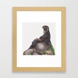 The Majestic Otter Framed Art Print