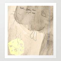 robert farkas Art Prints featuring Robert by Kay Weber