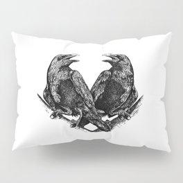 Odins Ravens Huginn and Muninn Pillow Sham