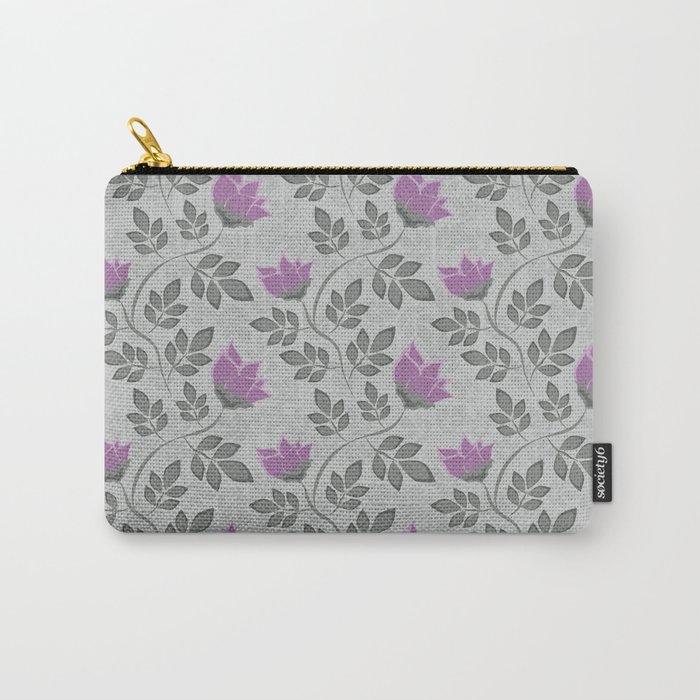 Liana purple flowers . Carry-All Pouch