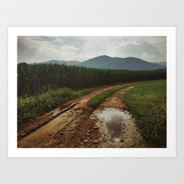 Old Rag Mountain Art Print