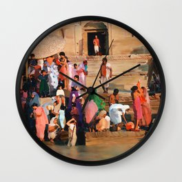 Ganges Wall Clock