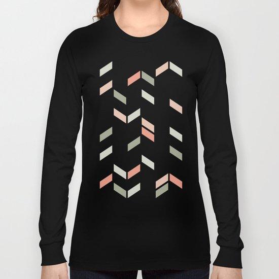 Geometric Confetti (Rose Garden) Long Sleeve T-shirt