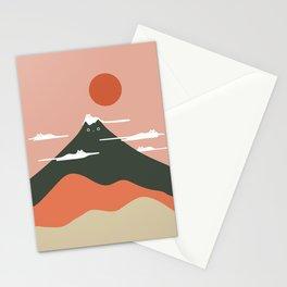 Cat Landscape 72 Stationery Cards