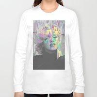 monroe Long Sleeve T-shirts featuring Monroe by Cale potts Art