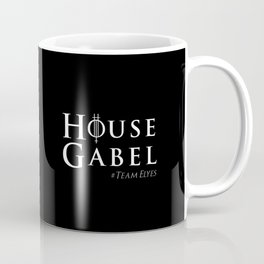 House Gabel - original black Coffee Mug