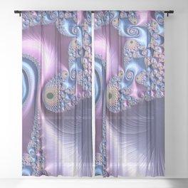 Circular Thinking Sheer Curtain