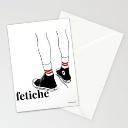 fetiche #1 (white) Stationery Cards