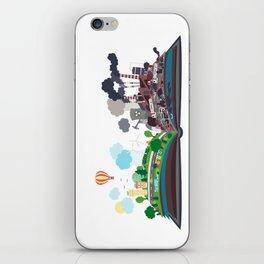 EcoBook iPhone Skin