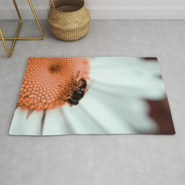 Doing Work || Floral Bee Rug