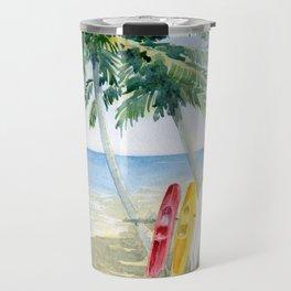 Tropical View Travel Mug