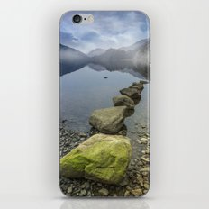 Llyn Gwynant Stepping Stones iPhone & iPod Skin