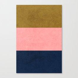 three stripes - classic Canvas Print