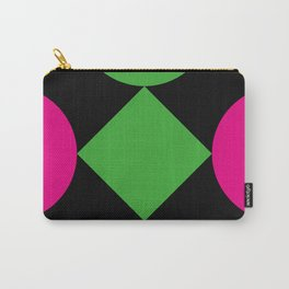 A green square being touched by two half-circles, surrounded by a Yellow Veil. Carry-All Pouch