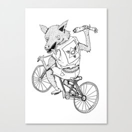 Wolfbrother Canvas Print