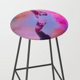 La Création d'Adam - Dorian Legret x AEFORIA Bar Stool