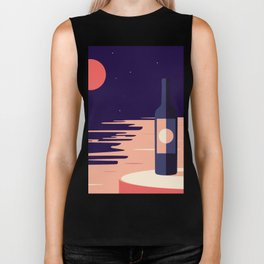 Moonlight + Wine Biker Tank