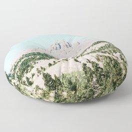 Happy Mountain #society6 #decor #buyart Floor Pillow
