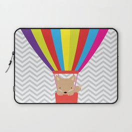 hot air balloon , Laptop Sleeve