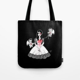 Unbroken Doll Tote Bag