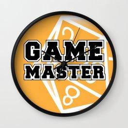 Game Master Wall Clock