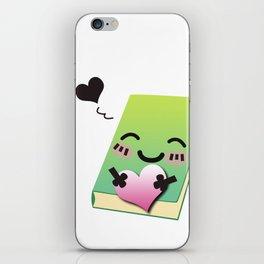 Book Emoji Love iPhone Skin
